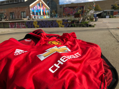 release date fe238 47efd The History of the Jersey - Manchester United - SportMember.com